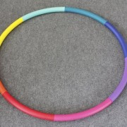 Sports-Hoop-Trim-Hoop-3B-31lb-Dia41-Large-Weighted-Hula-Hoop-for-Workout-with-50-minutes-Workout-Lesson-DVD-0-0