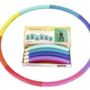 Sports-Hoop-Trim-Hoop-3B-31lb-Dia41-Large-Weighted-Hula-Hoop-for-Workout-with-50-minutes-Workout-Lesson-DVD-0