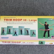 Sports-Hoop-Trim-Hoop-3B-31lb-Dia41-Large-Weighted-Hula-Hoop-for-Workout-with-50-minutes-Workout-Lesson-DVD-0-2